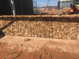 Gabian wall
